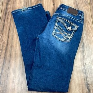 Maurices distressed straight leg jeans. 5/6